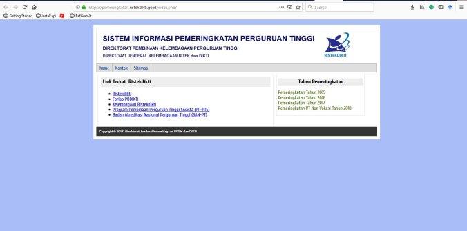 Web peringkat