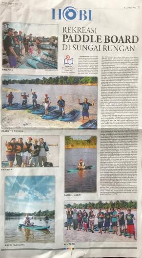 Artikel paddle board